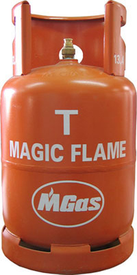 Bình Gas Magic Flame 12 Kg (Vàng Cam)